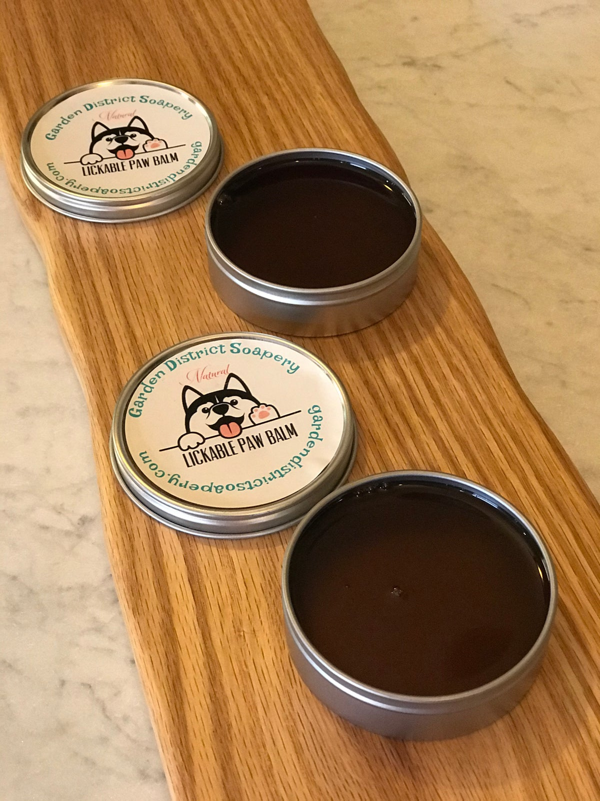 Lickable Natural Unscented Paw Balm