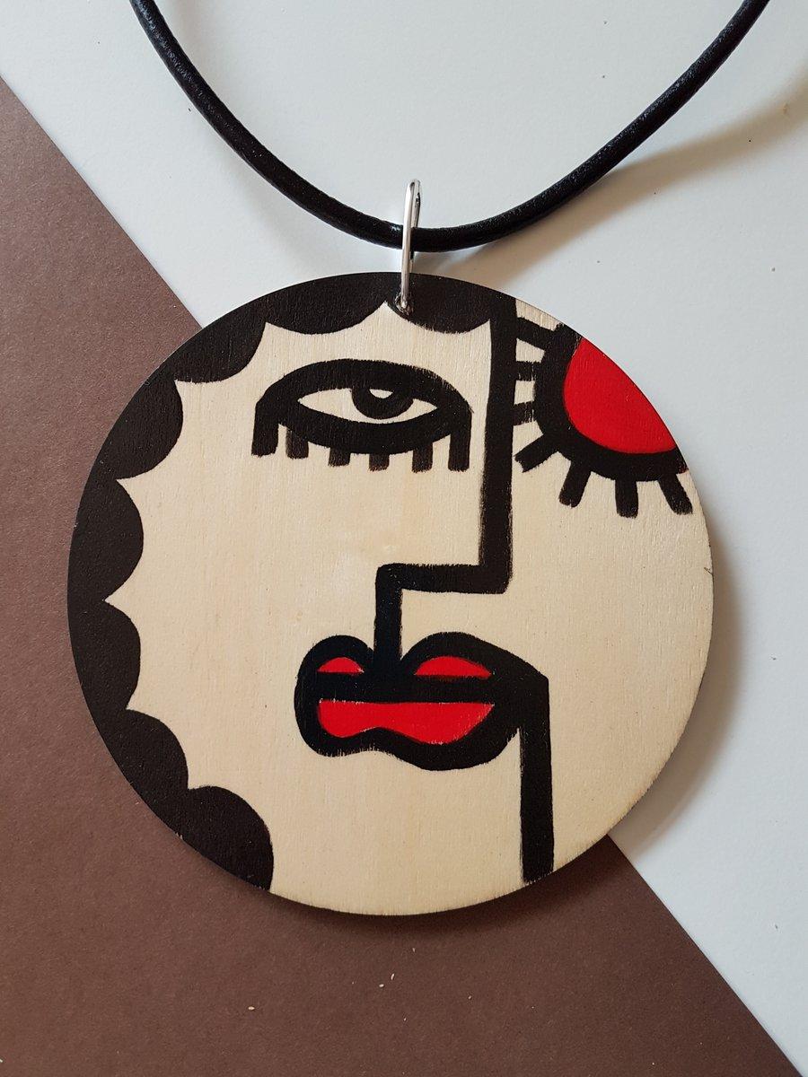 Image of giant pendant #7