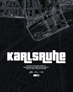 Image of Karlsruhe underground Karte