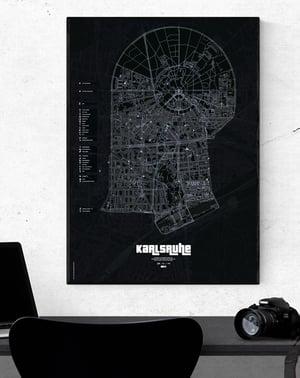 Image of GTA Karlsruhe underground Karte