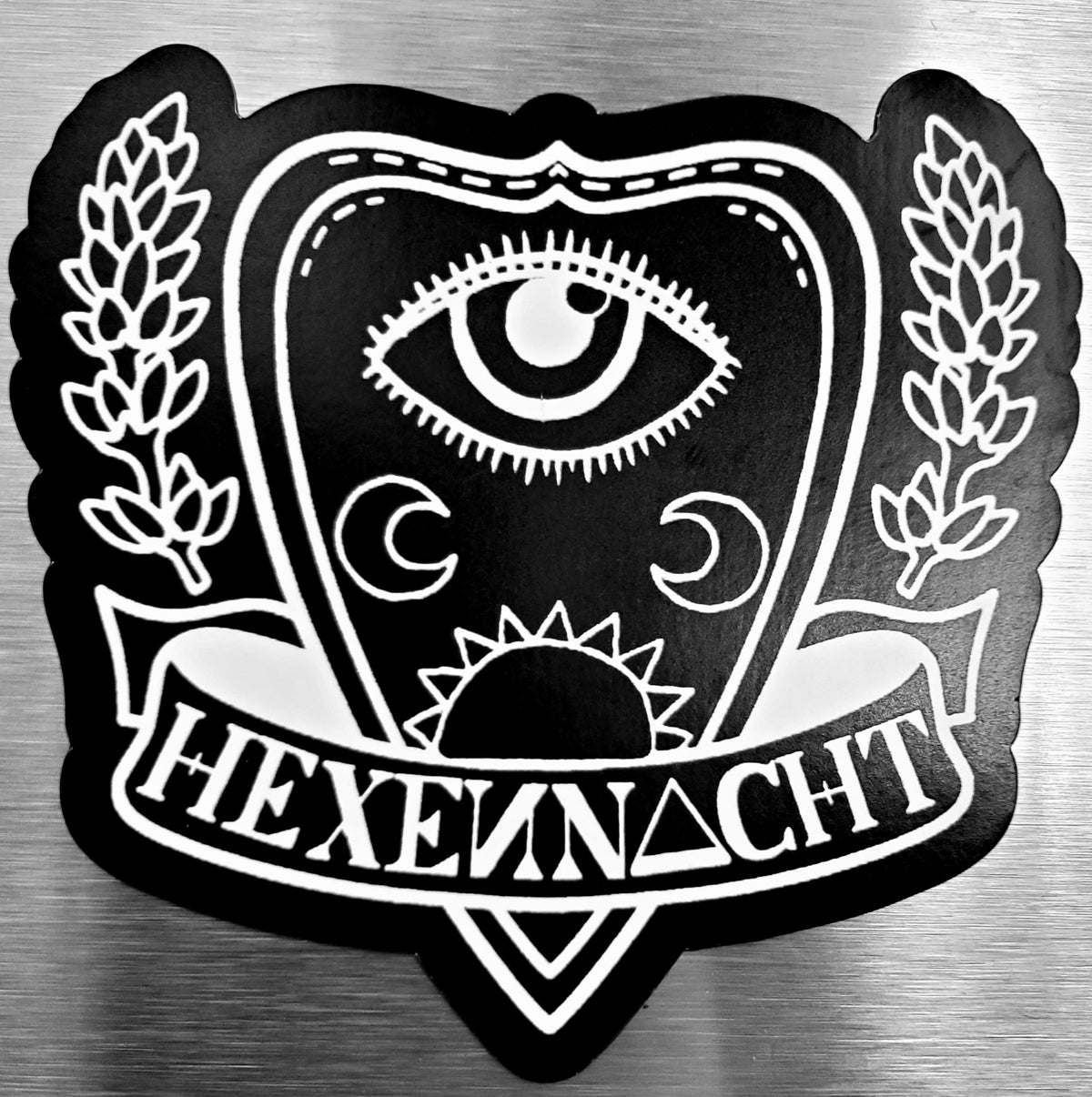 Image of hexennacht planchette-logo magnet