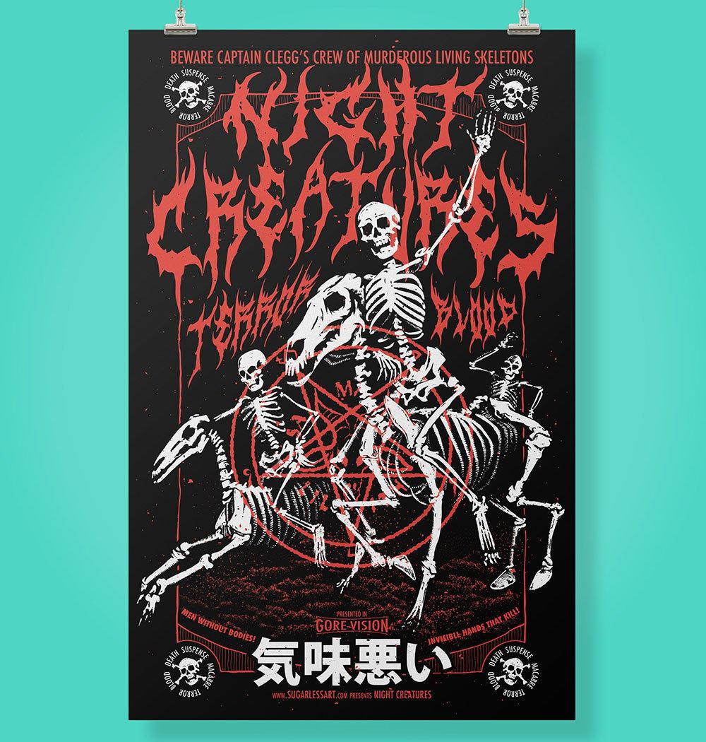 Night Creatures Poster