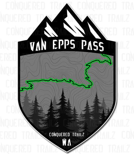 "Image of ""Van Epps Pass"" Trail Badge"