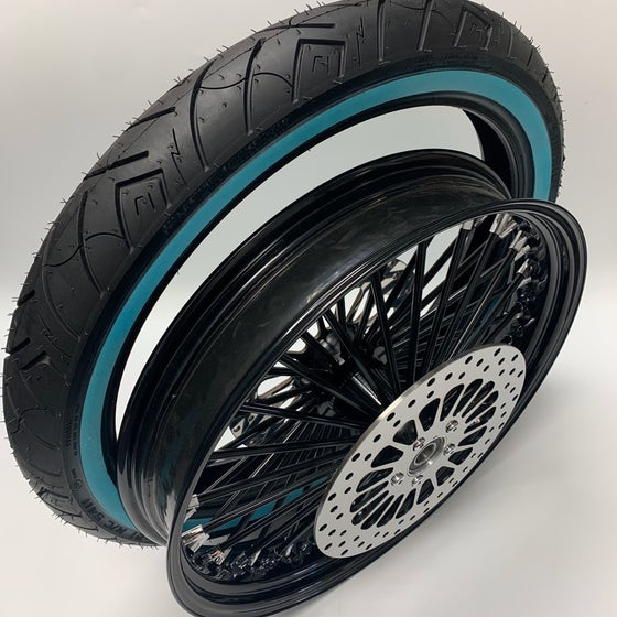 """Image of 21"""" King Spoke Rim, Tire & Rotor Package (Options Available)"""