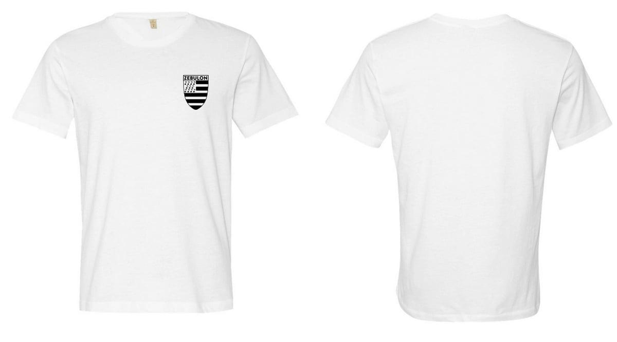 Zebulon Logo T-Shirt Black