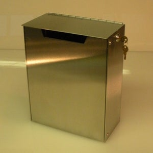 Image of 10-13  Wallmount Mailbox