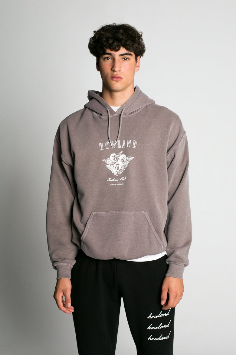Image of WASHED BROWN HOODIE