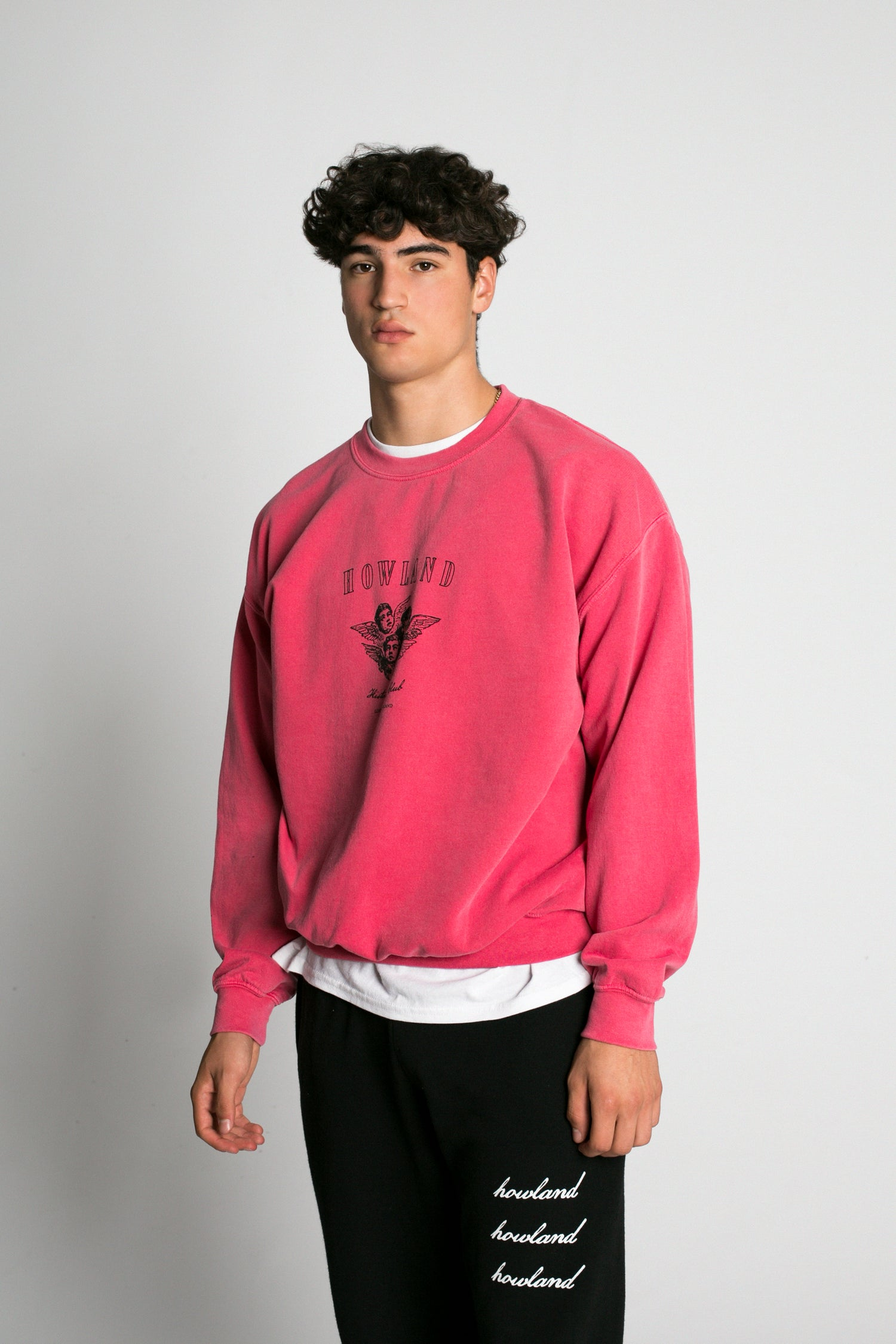 Image of WASHED RED SWEATSHIRT