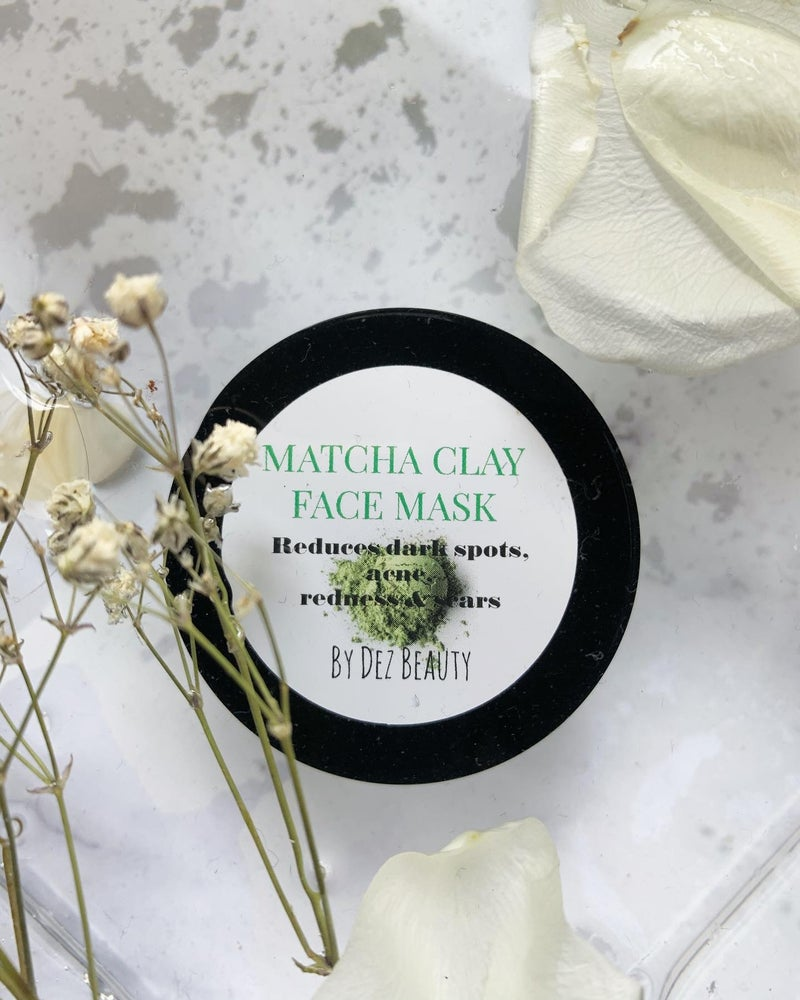 Image of MATCHA CLAY FACE MASK