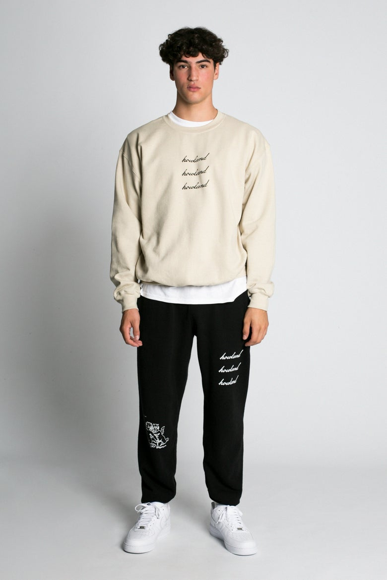Image of BEIGE SWEATSHIRT
