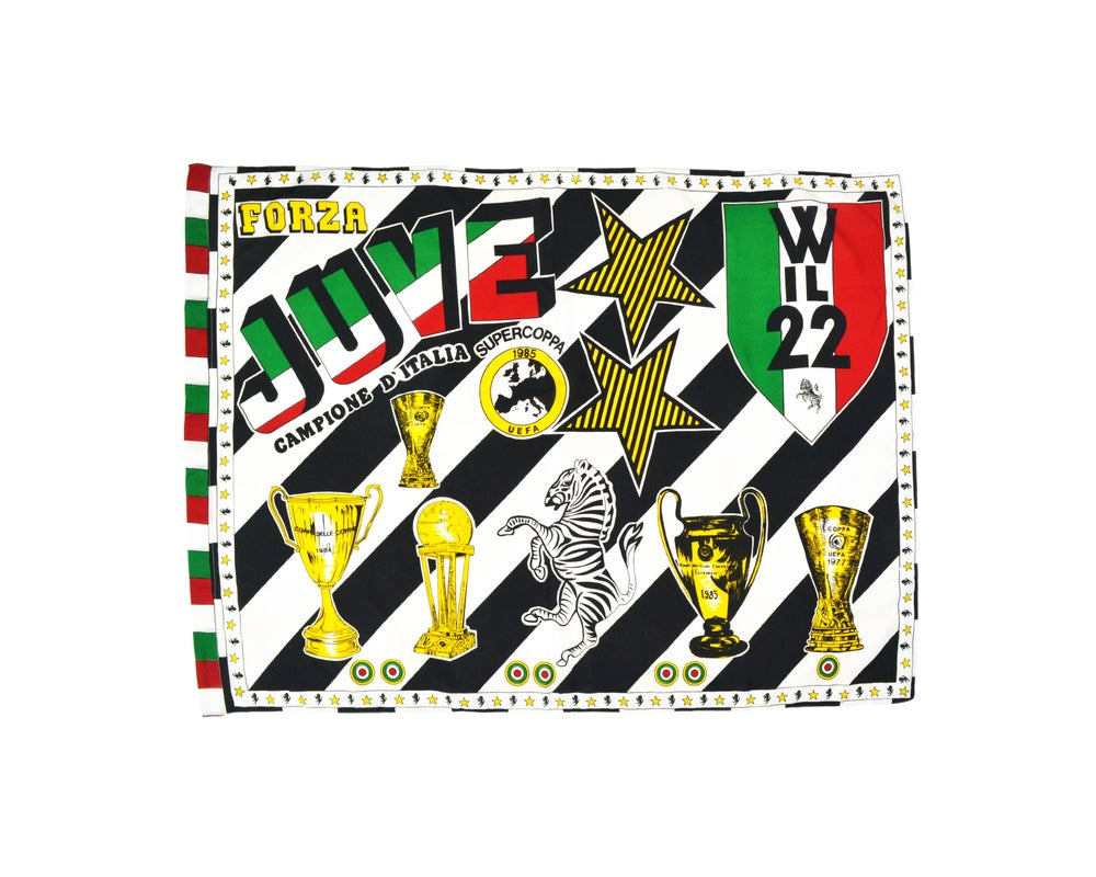 Image of Vintage Juventus Flag