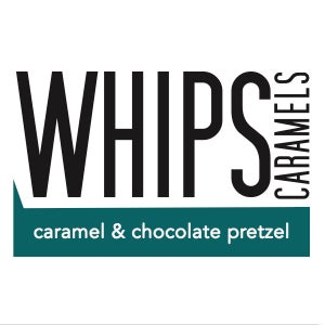 Image of caramel & chocolate dipped pretzel