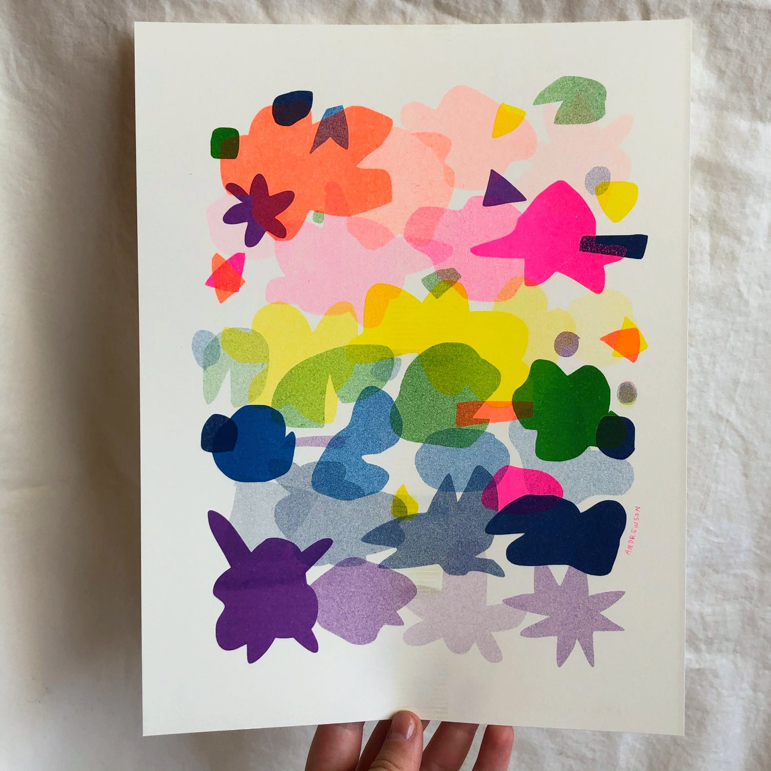 Riso Painting Palette