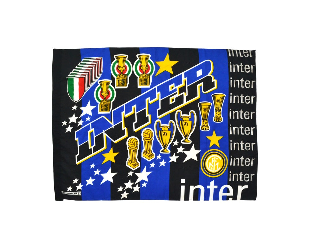 Image of Vintage Inter Milan Flag