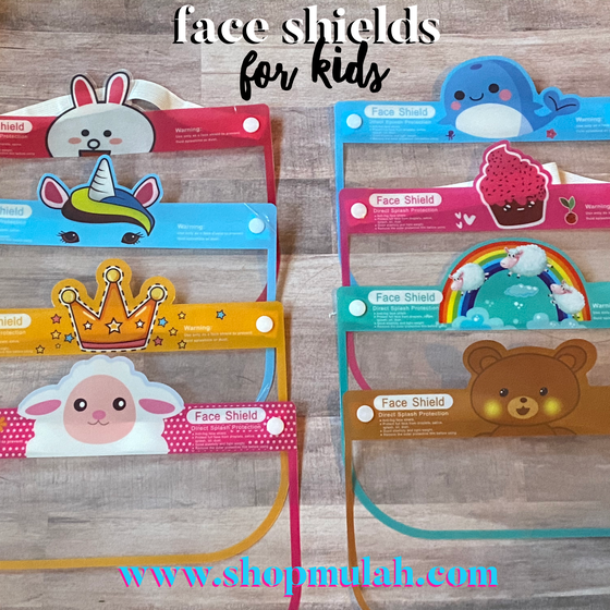 Image of Kids Face Shields