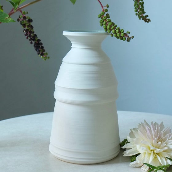 Image of Branch Vase, Warm White, #1010