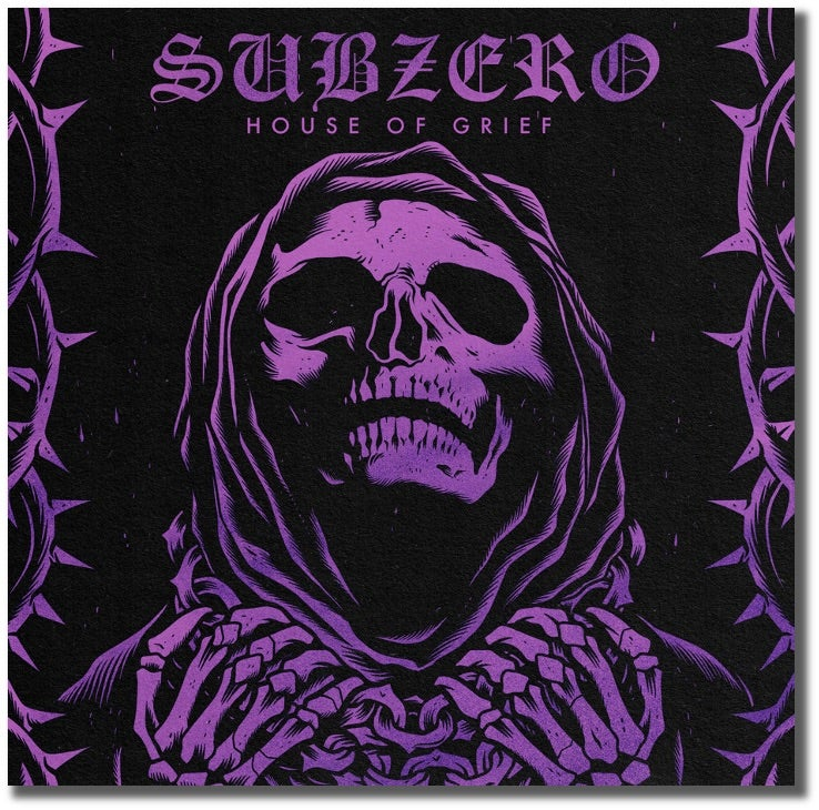 "Image of Subzero-House of Grief 7"" Generation Records Exclusive Pink & White Marbled Vinyl Pre-Order"