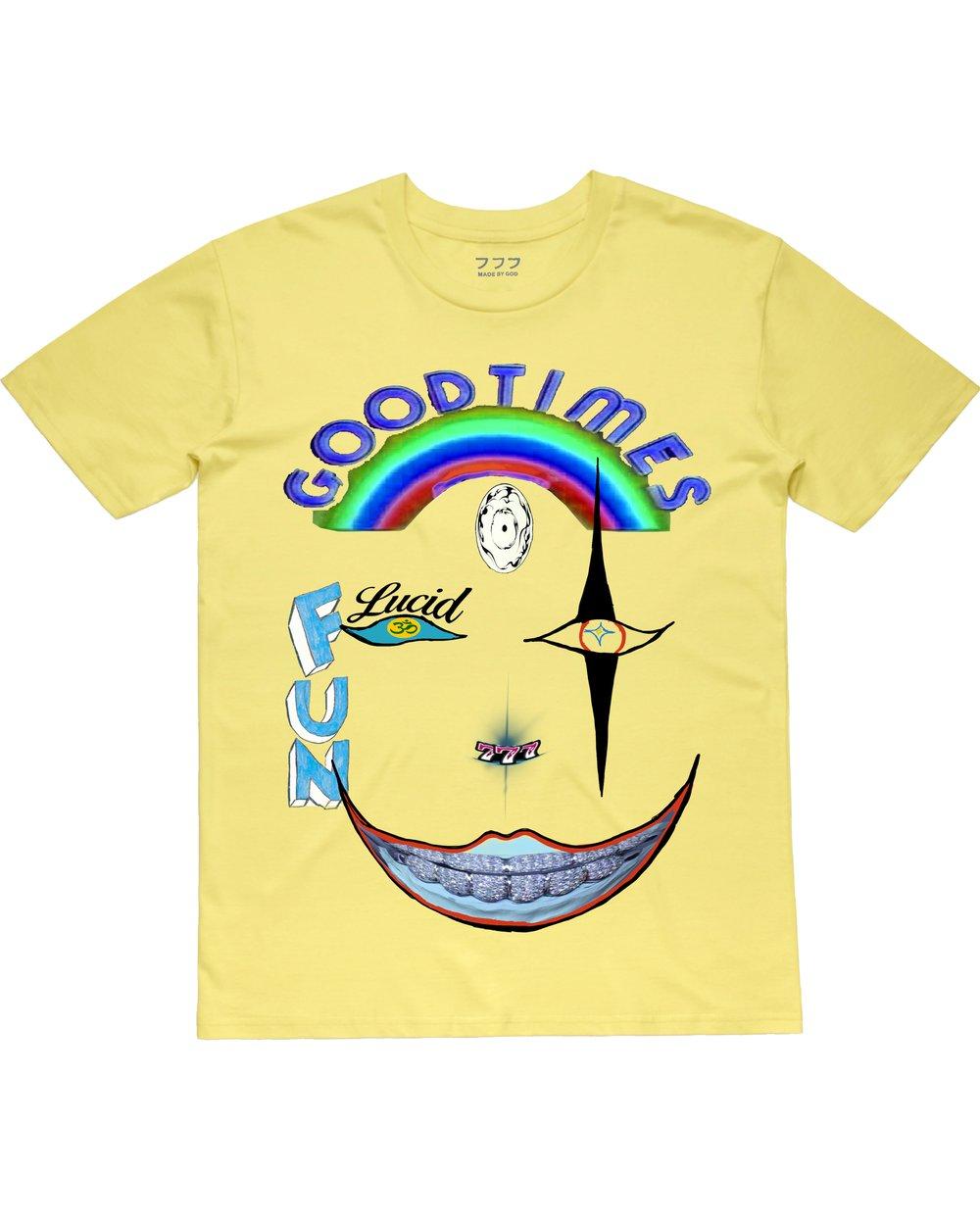 Image of GOODTIMES TEE (SUN YELLOW)