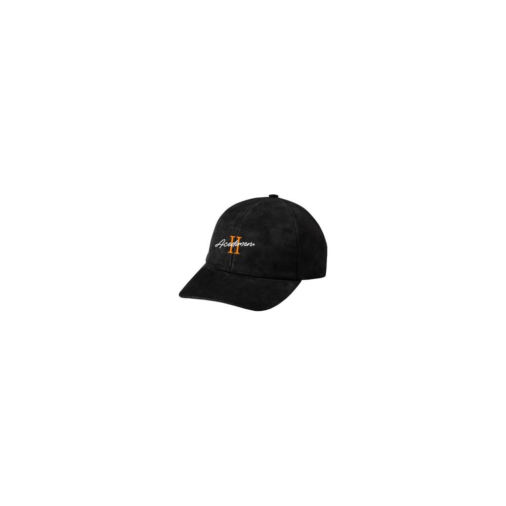 Image of ACEDIMEN 2 Suede Dad Hat - Black *Preorder*