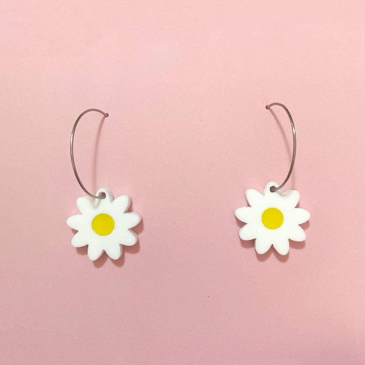 Image of Daisy Mini Hoops