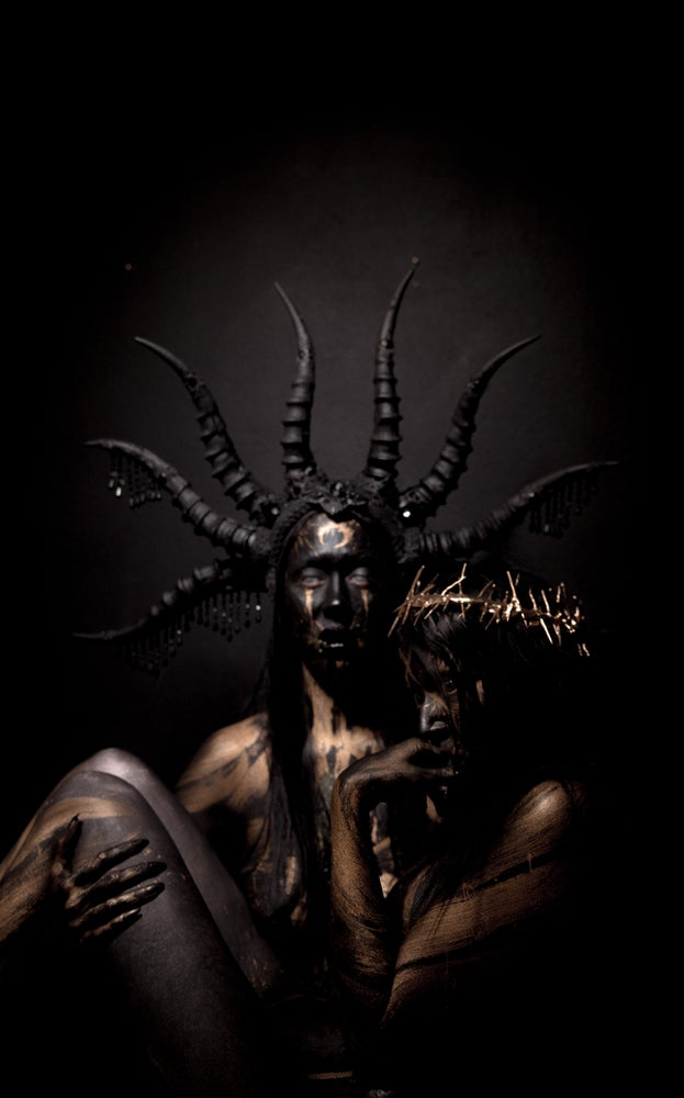 Image of Mastema 8 horned headdress