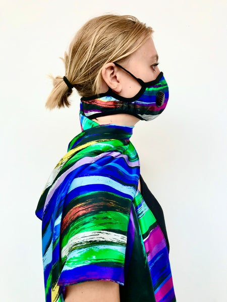 Image of Limited edition MASCARF silk