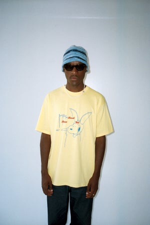 Image of BUNNYPUPSRIDE TEE YELLOW