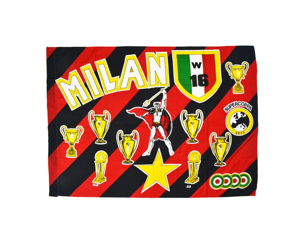 Image of Vintage AC Milan Flag