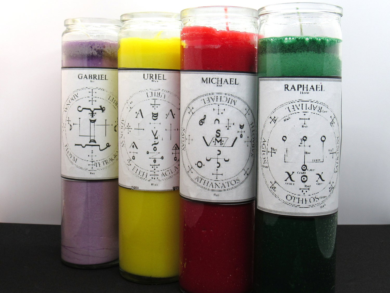 Image of Archangel Candle Set (4) LIMITED PRODUCT