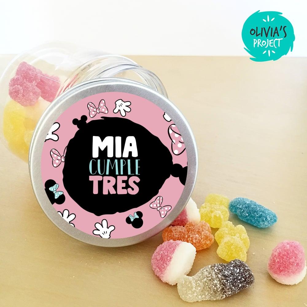 Image of Tarritos Chuches - Minnie 2 Pink
