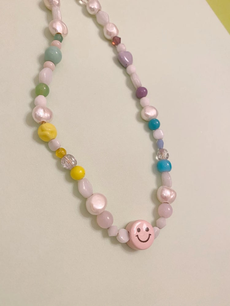 Image of Collar Smiley Superpower 2