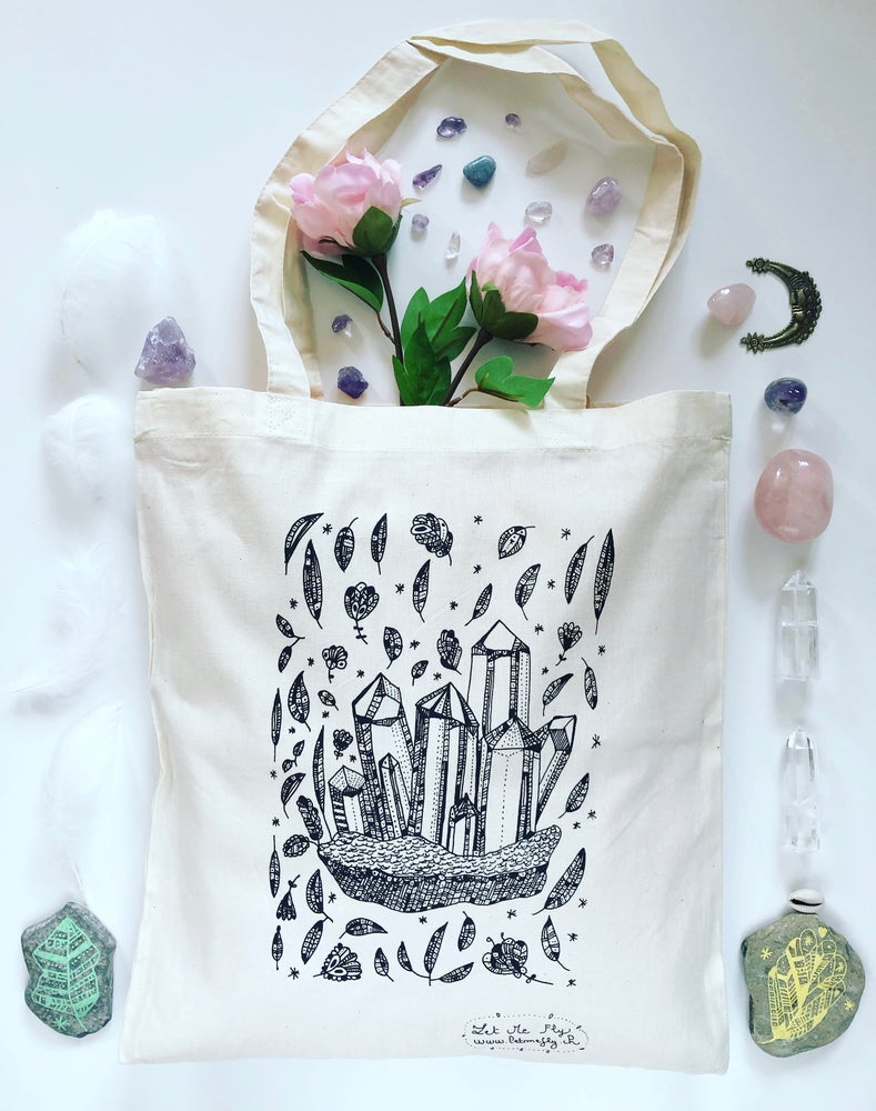 Image of Tote Bag *Magic Stones*