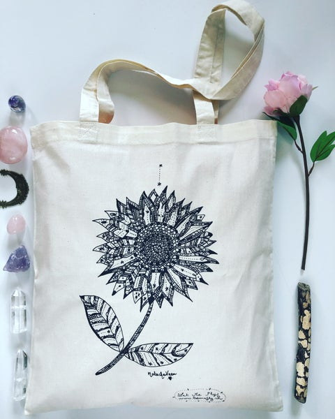 Image of Tote Bag *Sunflower*