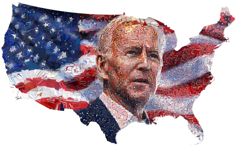 Image of Joe Biden 2020 - The United States