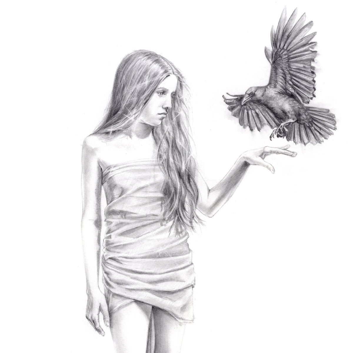 Image of Grace and the Crow