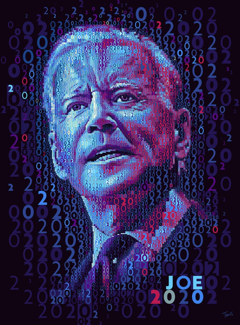 Image of JOE2020: 2020 in Red, White and Blue