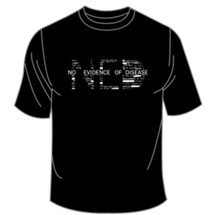 Image of No Evidence of Disease T-Shirt