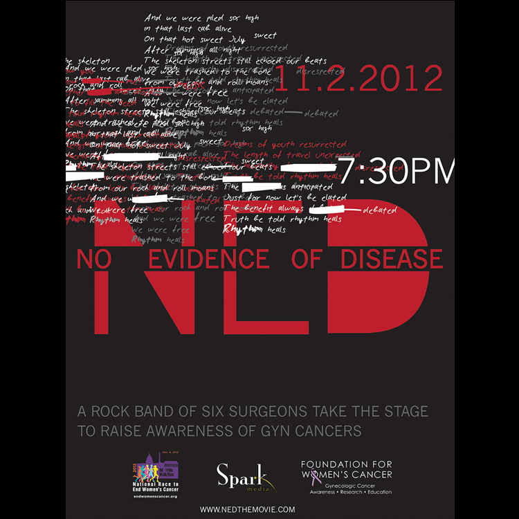Image of N.E.D. Band Poster