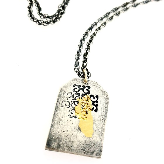 Image of Dog tag style necklace