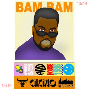 "Bam Bam - Where is Your Child? ""Poster"""