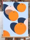 Ana Popescu, Spazi (Oranges) 2020