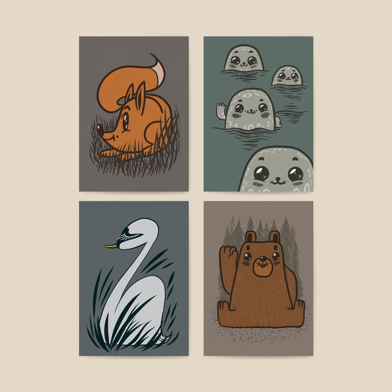Image of Finnish Forest Animals