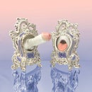 Image 1 of Rococo Gloryhole Bookends with 22kt Gold (Pair)