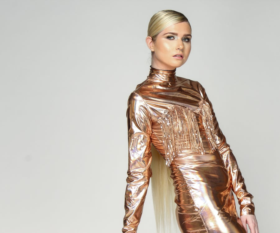 Image of She's a Star Dress