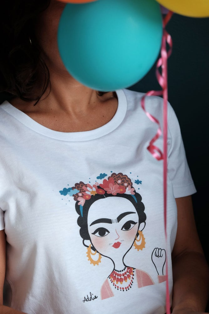 Image of The Simones X Adolie Day - Tee Shirt LIBERTAD
