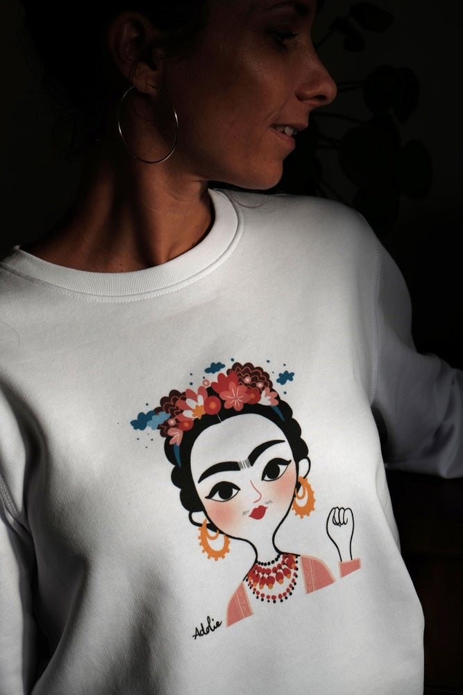 Image of The Simones X Adolie Day - Sweat FRIDA