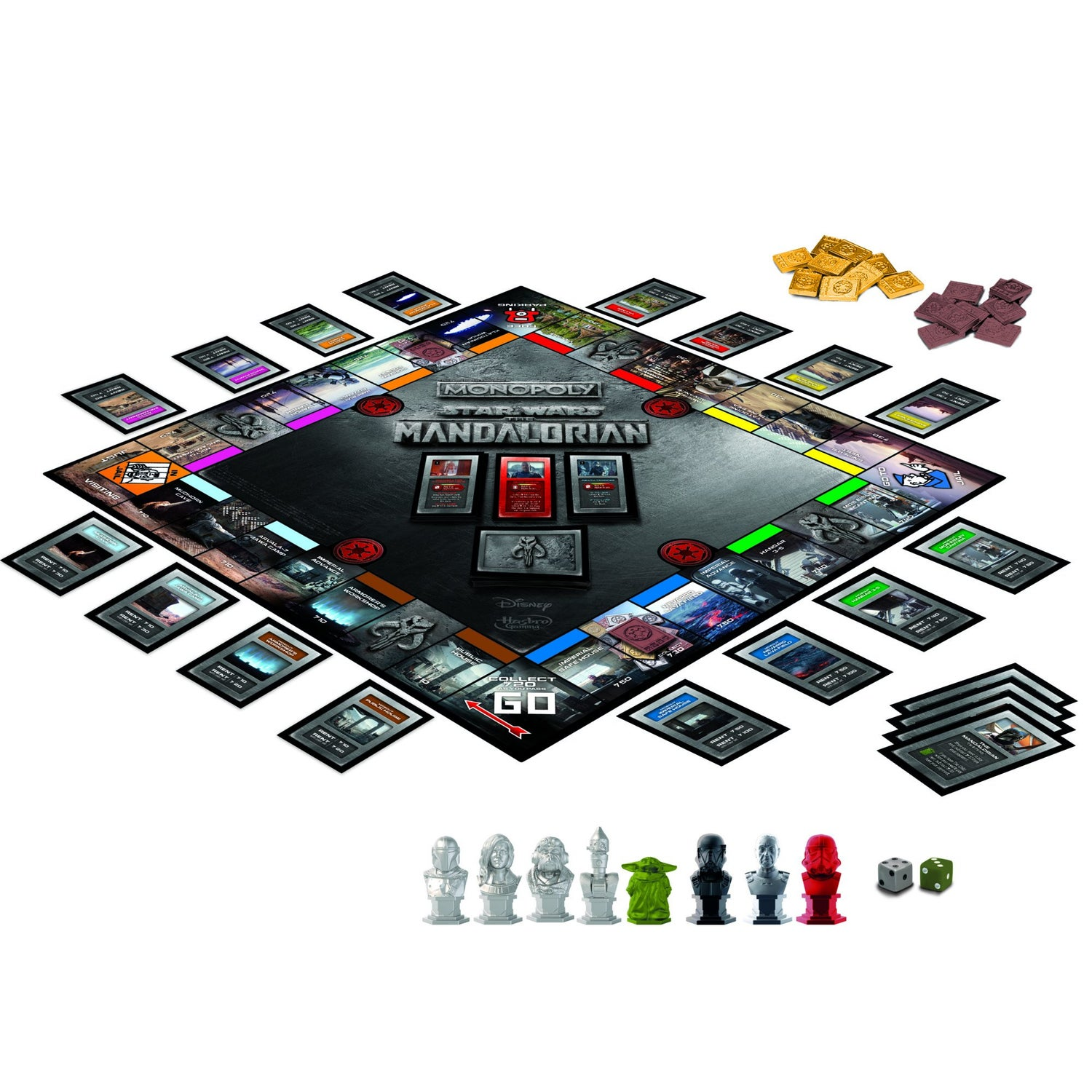 Image of Monopoly: Star Wars The Mandalorian Edition