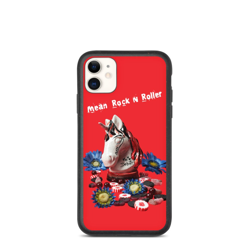 Image of Biodegradable Mean Rock N Roller iphone case
