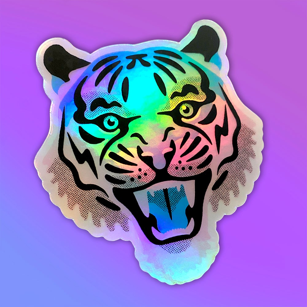 Image of Electric Tiger Sticker