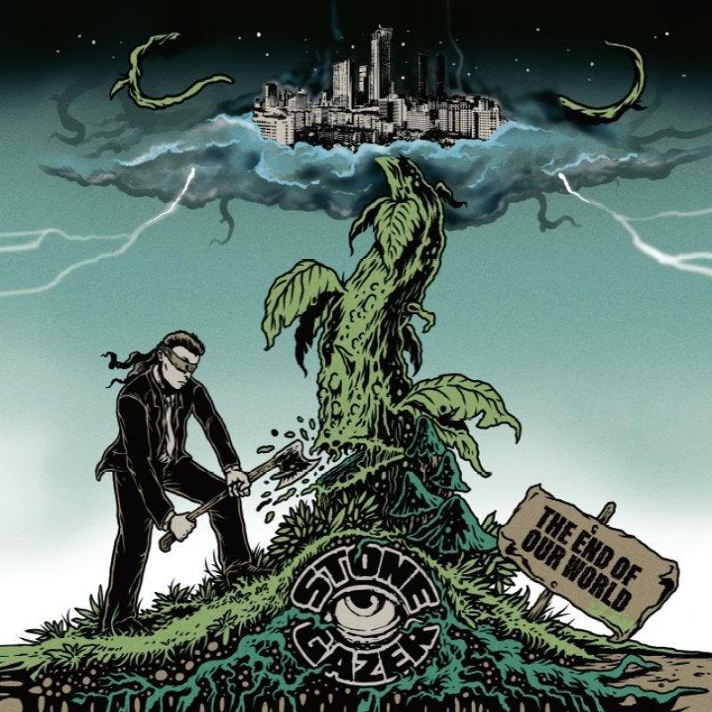 Image of Stonegazer - The End of Our World transparent green vinyl